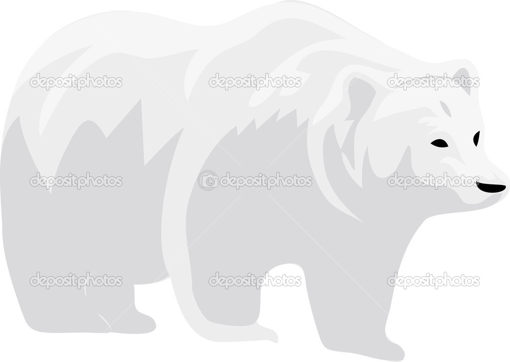 Polar bear illustration — Stock Photo #7513268