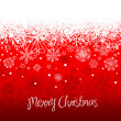 Royalty-Free Stock Photo: Red hand drawn Christmas background