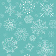 Seamless christmas background - Stock Photo