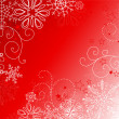 Abstract background with snowflakes.  — Stock Photo