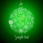 Beautiful Christmas ball illustration. — Stock Photo