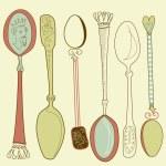 Vintage spoons — Stock Photo #7549534