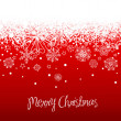 Royalty-Free Stock Photo: Red christmas background, vector illustration