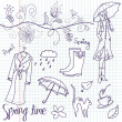 Spring Doodles — Stock Photo #7549555