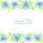 Blue Flower Background — Stock Photo #7549774