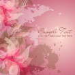 Romantic Flower Background — Stock Photo