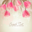 Romantic Flower Background - Stok fotoğraf