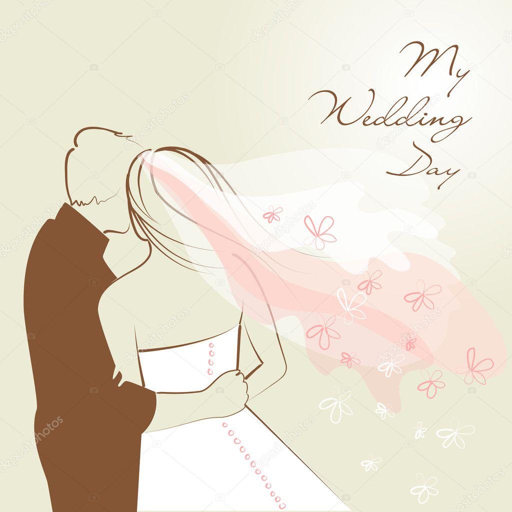 Wedding background - Stock Image