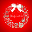 Christmas wreath — Stock Photo #7550024