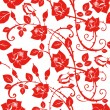Seamless Floral Rose pattern - Foto Stock
