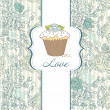 I Love Cupcakes! - Stok fotoraf