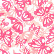 Butterfly seamless pattern — Stock Photo