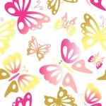Butterfly seamless pattern — Stock Photo #7550480