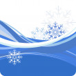 Christmas vector background — Stock Photo