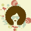 Afro woman — Stock Photo