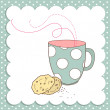 Nice Cup of Tea and a biscuits - Lizenzfreies Foto