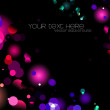 Glittering lights background — Stok fotoğraf