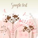 Gorgeous nature theme background — Stock Photo
