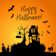 Halloween Background — 图库照片 #7552675