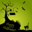 Halloween Background — Stockfoto #7552695
