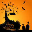 Foto Stock: Halloween Background