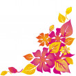 Hawaiian abstract flower background — Stock Photo