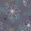 Stock Photo: Seamless Aloha Pattern