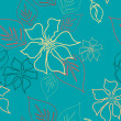 Seamless Aloha Pattern — Stock Photo