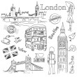 London doodles — Stock Photo #7552891