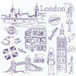 London doodles — Stock Photo #7552901