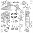 London doodles — Stock Photo #7552913