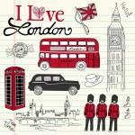 London doodles — Stock Photo #7552940