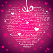 Say I love you in many languages - Foto Stock