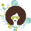 Stock Photo: Afro woman