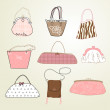 I Love Bags - Stock Photo