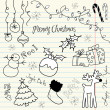 Cute Christmas and doodles — Stock Photo #7559692