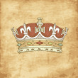 Vintage Crown - Foto Stock