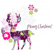 Christmas deer - Photo