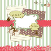 Cute scrapbook elements — Stok fotoğraf