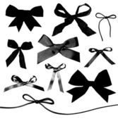 Bows and Ribbons isolated on white background — Stock Photo