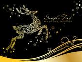 Christmas Deer — Stock Photo
