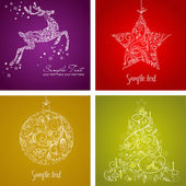 Vánoční sada — Stock fotografie
