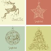 クリスマス セット — ストック写真