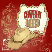 Cowboy hat design — Stock Photo