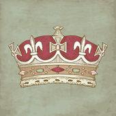 Corona d'epoca — Foto Stock