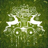 Green Christmas Ornament — Stock Photo