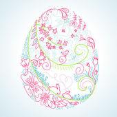 Stylized easter egg — Stock Photo