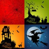 Halloween Set — Stock Photo