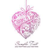 Alla hjärtans-kort — Stockfoto