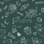 Love Doodles — Stock Photo